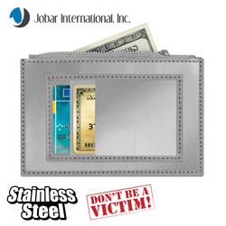 Stainless Steel Wallet&nbsp;&nbsp;Model#&nbsp;JB6098