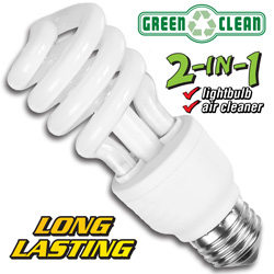 12-Pack Healthy CFL Light Bulbs  Model# PA151M35