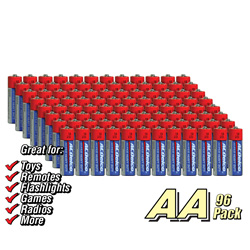 AC Delco 96 Pack AA Batteries  Model# AC175