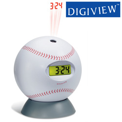 Baseball Projection Clock  Model# PC06-M
