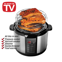 Emson Pressure Cooker/Smoker  Model# 8303