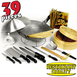 39 Piece Wok Set  Model# 8986