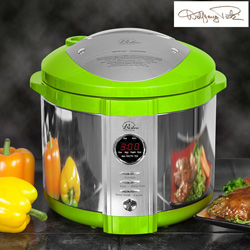Green Wolfgang Puck Pressure Cooker