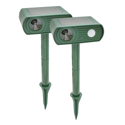 Solar Animal Repellers - 2 Pack  Model# GH-192B