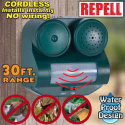 2 Pack Outdoor Animal Repellers  Model# GH320