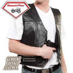 Concealed Motorcycle Vest&nbsp;&nbsp;Model#&nbsp;GFVAP