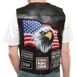 Concealed Motorcycle Vest  Model# GFVAP