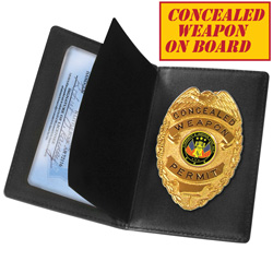 Concealed Weapon Permit Holder  Model# CWPB