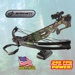 Quad 400 Crossbow with 4X32 Scope  Model# 38032
