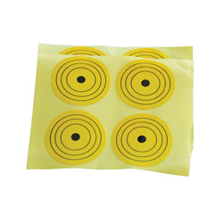 30 Pack Bulls Eye Stickers  Model# 2101