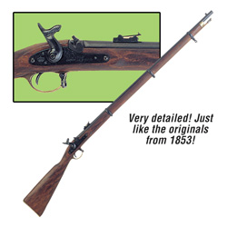 Replica 1853 Enfield Rifle Musket  Model# FD1067