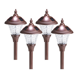 4-Piece Solar Light Set  Model# 351104-78R