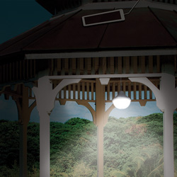 Solar Pavilion Light  Model# 21035