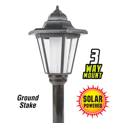 3-Way Solar Lights&nbsp;&nbsp;Model#&nbsp;3573B