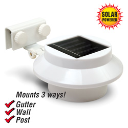 2 Pack Solar Gutter Lights&nbsp;&nbsp;Model#&nbsp;155005