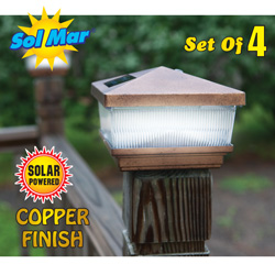 4 Pack Solar Pagoda Lights  Model# S1184A
