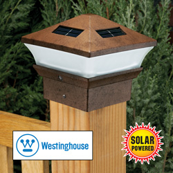 2 Pack Solar Pagoda Lights  Model# 178022-35W