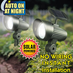2 Pack Solar Accent Lights&nbsp;&nbsp;Model#&nbsp;ESL-39-1