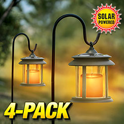 Flicker Candle Solar Lights 65629F