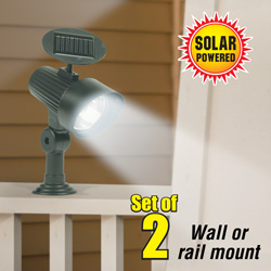 Wall/ Railing Mount Solar Light&nbsp;&nbsp;Model#&nbsp;ESL-39-3