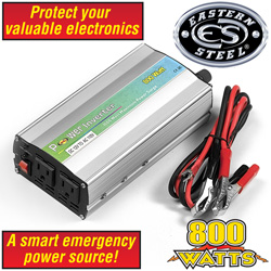 Eastern Steel 800W Inverter  Model# HI-800
