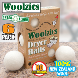 Woolzies Dryer Balls - 6 Pack  Model# 6133