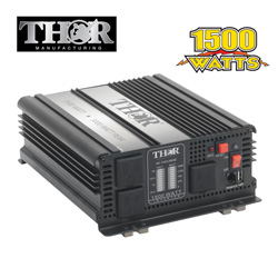 Thor 1500W Modified Sine Inverter&nbsp;&nbsp;Model#&nbsp;TH1500