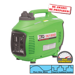 Digital Inverter Generator  Model# IN1800I-GREEN