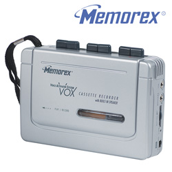 Memorex Full Size Cassette Recorder  Model# MB1055B