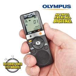 Olympus 2GB Digital Voice Recorder&nbsp;&nbsp;Model#&nbsp;VN-7200