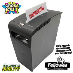 Fellowes 9 Sheet Paper Shredder  Model# P-58C