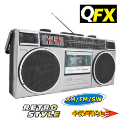 Quantum FX Portable Stereo System  Model# CR-90