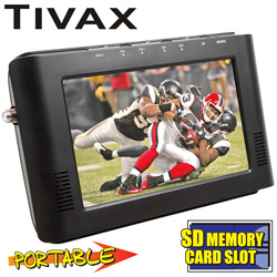 Tivax 7 inch Digital TV  Model# MITV-MOBILE 7