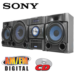 Sony Hi-Fi Music Shelf System  Model# MHC-EC909IP