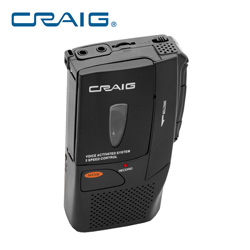 Craig Micro Cassette Recorder  Model# CR8003