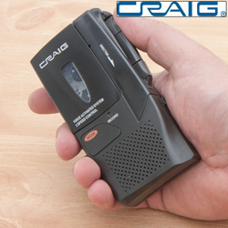 Micro Cassette Recorder  Model# CR8003