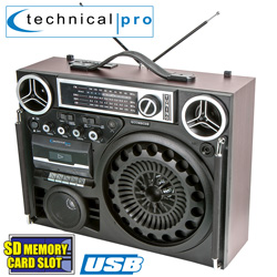 Technical Pro Boombox  Model# BOOMBOX9