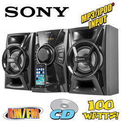 Sony Mini Hi-Fi Shelf System  Model# MHC-EC609IP