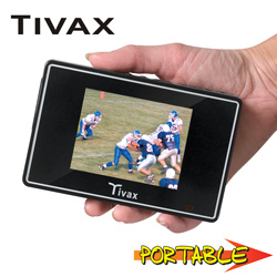 Tivax 3.5 inch Digital Television  Model# SCOUT 35