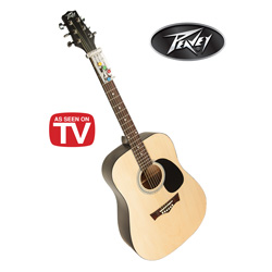 Peavey Acoustic Guitar with Chord Buddy  Model# 03016690