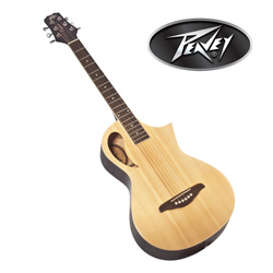 Natural Peavey Parlor Guitar  Model# 3014170