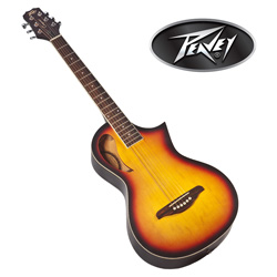 Sunburst Peavey Parlor Guitar  Model# 3014420