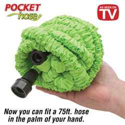 Pocket Hose - 75ft.  Model# 75FT