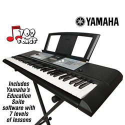 Yamaha Keyboard  Model# PSR-E233 BUNDLE PACK