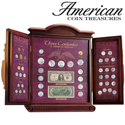 3 Centuries America Coins&nbsp;&nbsp;Model#&nbsp;2501
