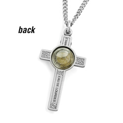Lourdes Cross Necklace  Model# 160902