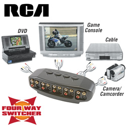 RCA Digital Plus A/V Switcher  Model# DH4VS