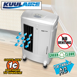 KuulAire Air Cooler&nbsp;&nbsp;Model#&nbsp;PACKA30