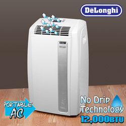 DeLonghi 12,000 BTU Portable Air Conditioner&nbsp;&nbsp;Model#&nbsp;PACA120E