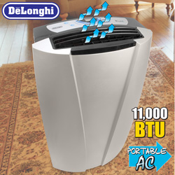 DeLonghi Portable Air Conditioner&nbsp;&nbsp;Model#&nbsp;PACT110P
